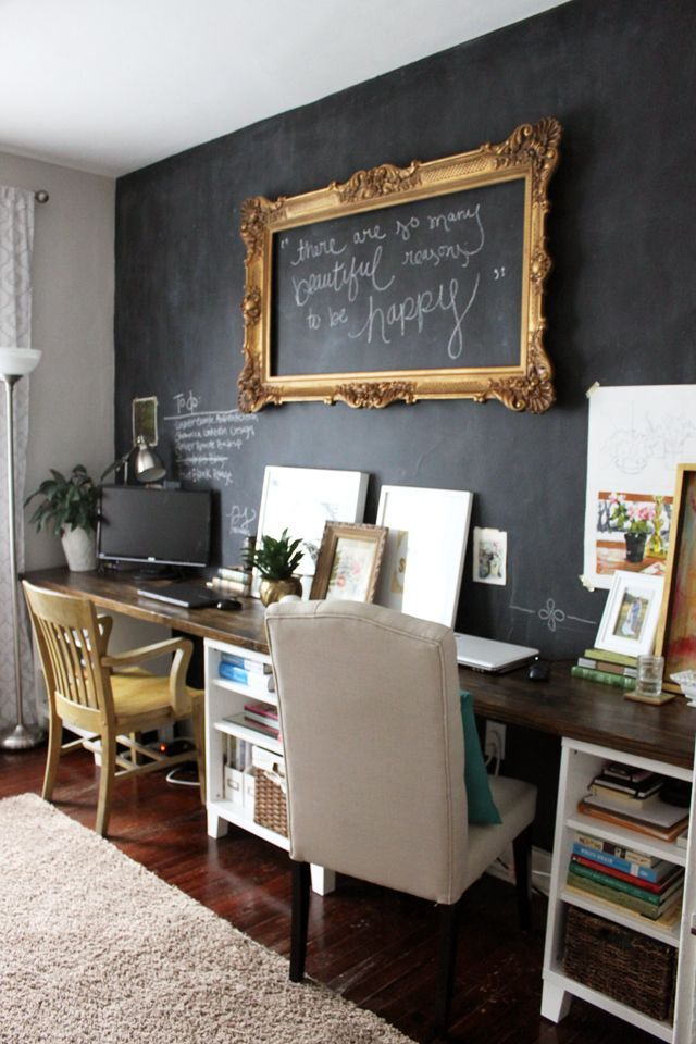 office chalkboard