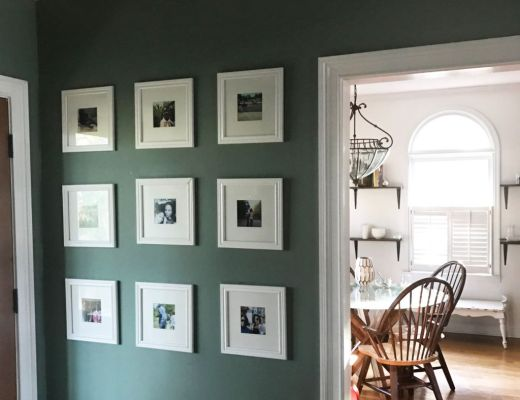 how to hang a gallery wall