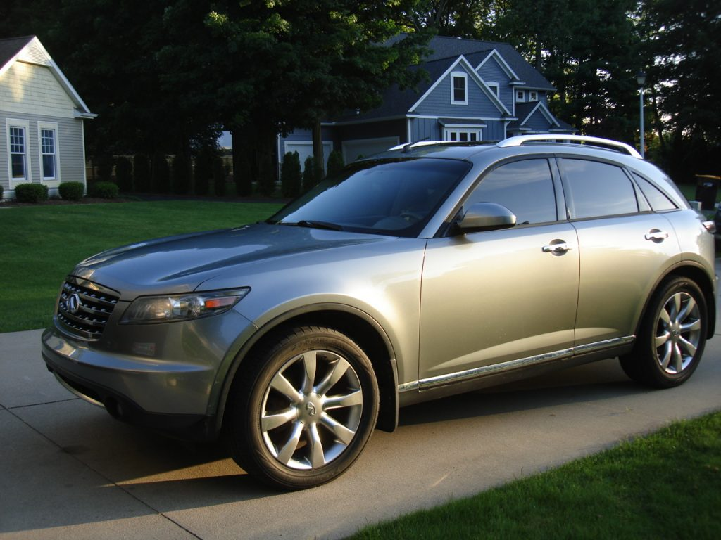 hight resolution of 2007 infinity fx35 awd 003