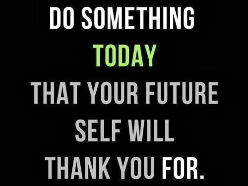 Future-Self Inspirational Quote
