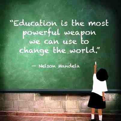 Nelson Mandela Education Quote