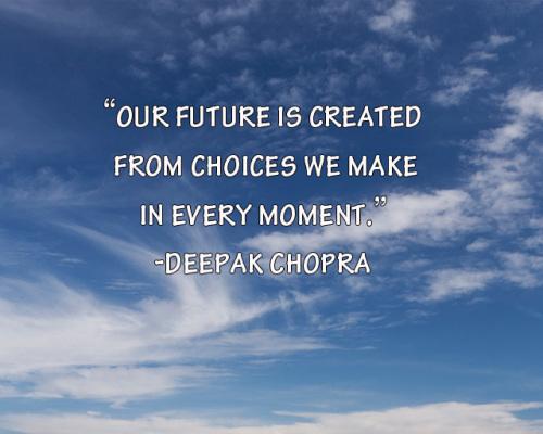 Deepak Chopra Inspirational Quote