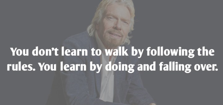 Quote from Sir Richard Branson