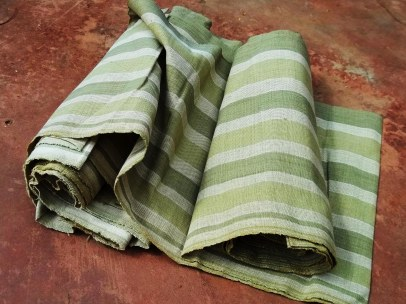 sample of bio cloth - table cloth - runner
