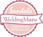 Sandals Wedding Moon Specialist