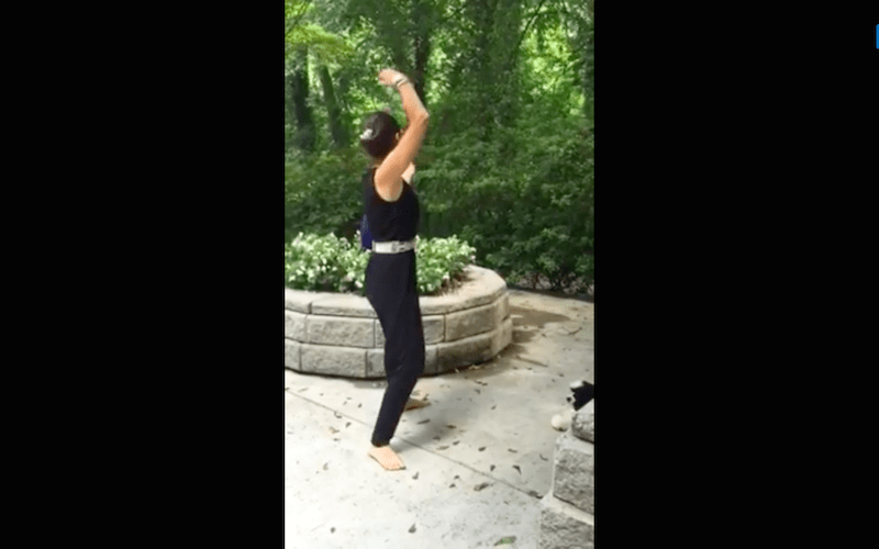 Bend Arms Overhead Like A Rainbow: Qi Gong Exercise 3