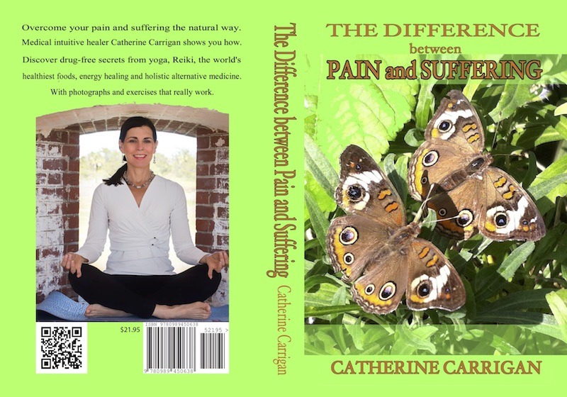 The Difference Between Pain and Suffering, Amazon Number 1 Bestseller by Catherine Carrigan