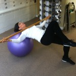 Supine Lateral Ball Roll, An Exercise That Helps Unlock Your Sacroiliac Joint