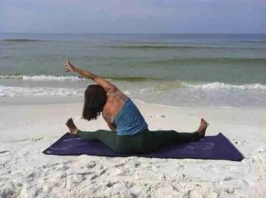 Straddle Fold Side Stretch