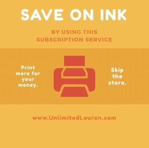 Save big on ink and skip the store by using this service!