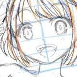 【初心者向け】キャラクターイラストを描いてみる②【ラフの描き方】