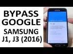 BYPASS GOOGLE Account Samsung Galaxy J1, J3 | Protection FRP