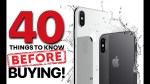 iPhone X & 8 – 40 Things Before Buying!
