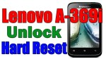 Lenovo A369i Hard Reset -Removed Patten & Pin lock,Bootloop fix