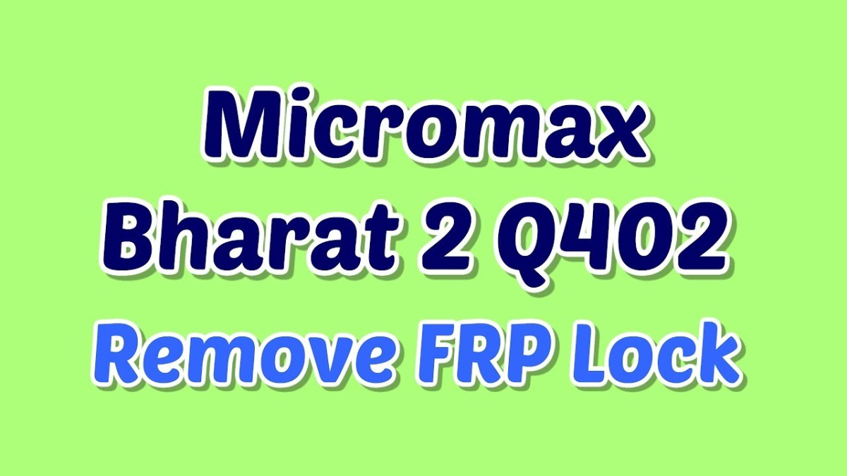 Micromax Q402 FRP Lock | FRP tool | Security Path