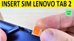 INSERT/REMOVE SIM & Memory SD Card Lenovo TAB 2 A10-30 | How to