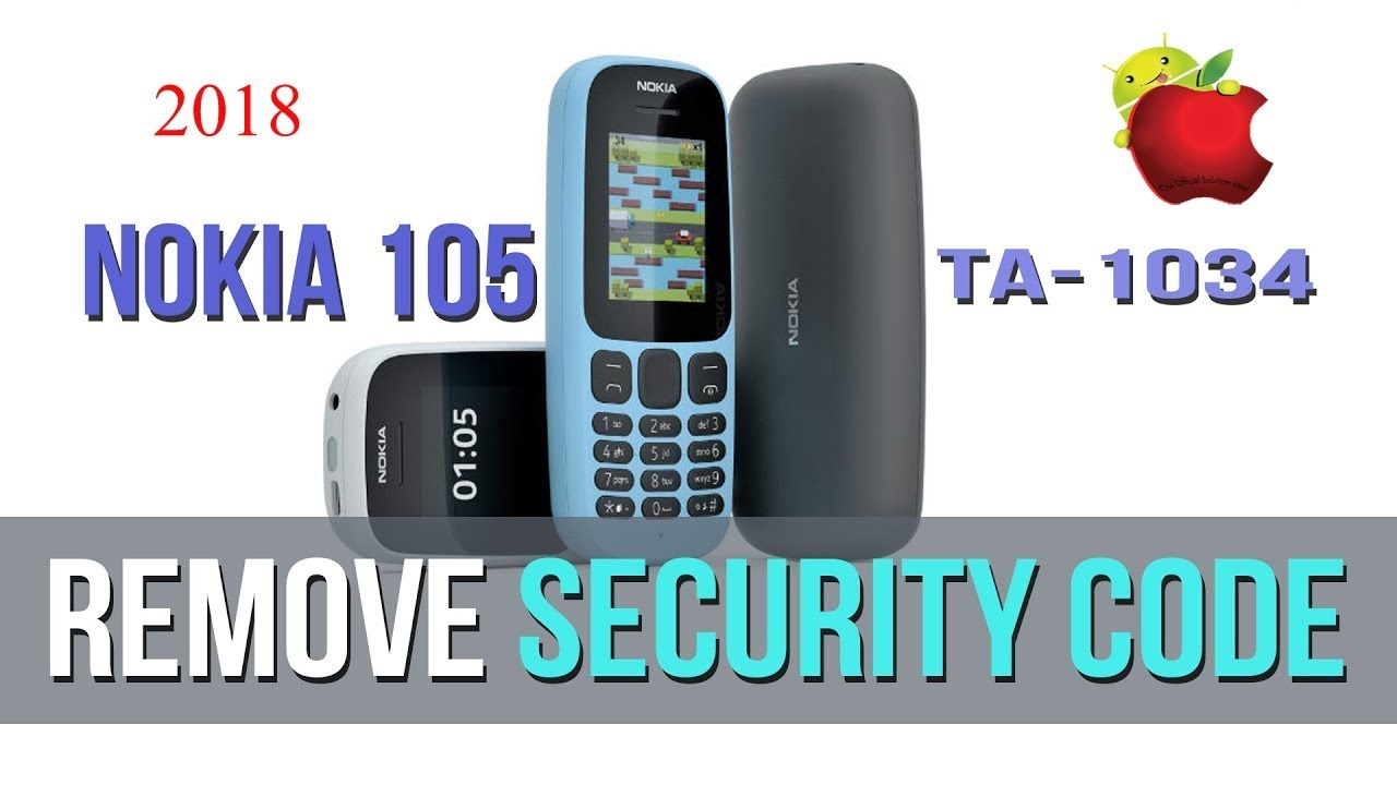 How to remove the code from Nokia