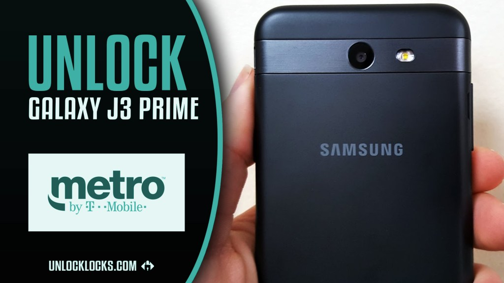 How To Unlock Samsung Galaxy J3 Prime (Metro by T-Mobile) by Unlock