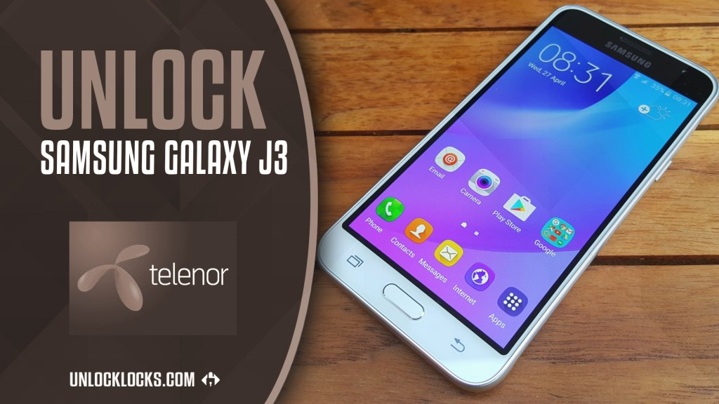How to Unlock Samsung Galaxy J3 2016 (Telenor Hungary) by Unlock