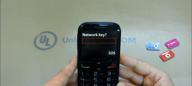 How To Unlock Alcatel One Touch 20.01 (OT-2001, OT-2001A and OT-2001X) by unlock code.