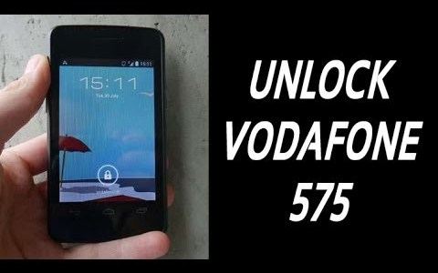 How To Unlock Alcatel Vodafone 575 By Unlock Code.