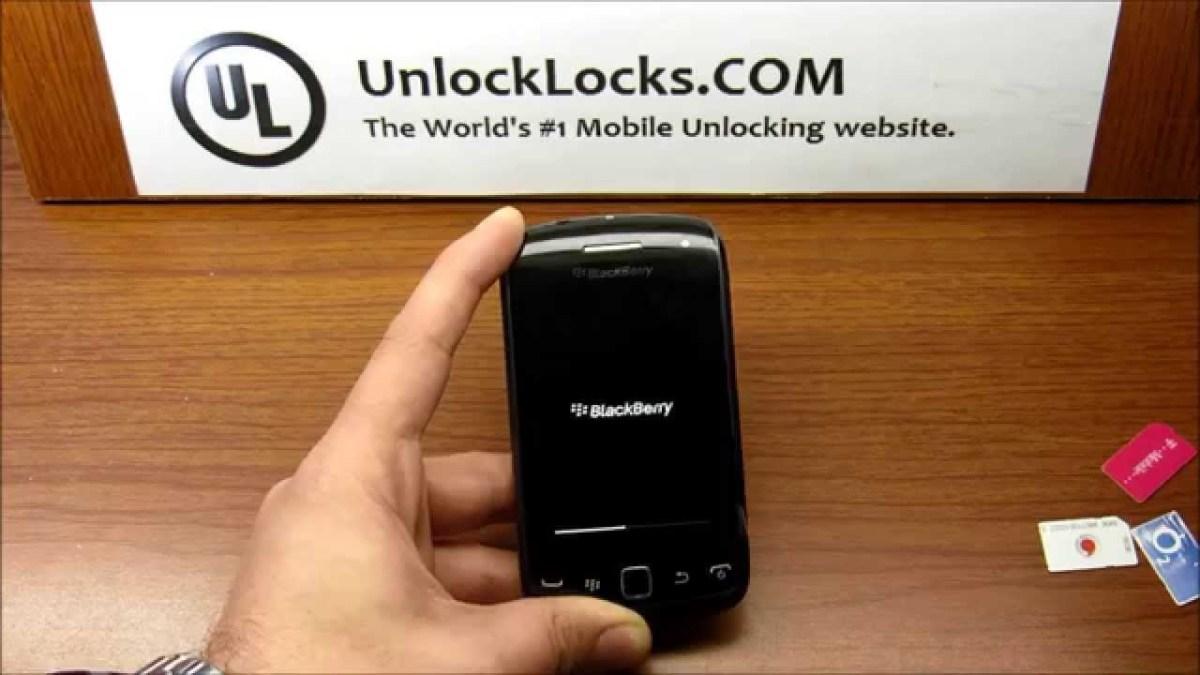 How To Unlock BlackBerry Curve 9380 by unlock code (MEP2