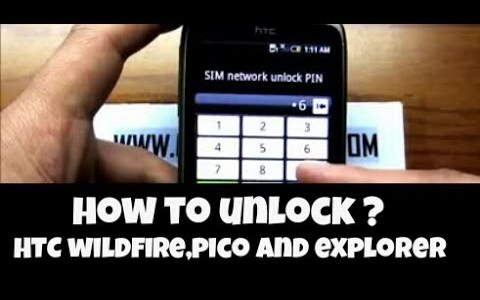 How To Unlock HTC Sense by Unlock Code ?