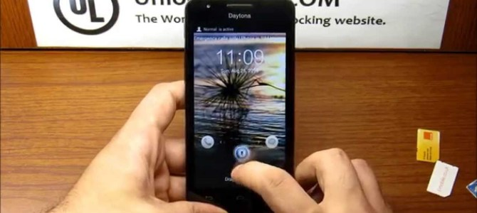 How To Unlock Huawei Ascend Y220 by unlock code.