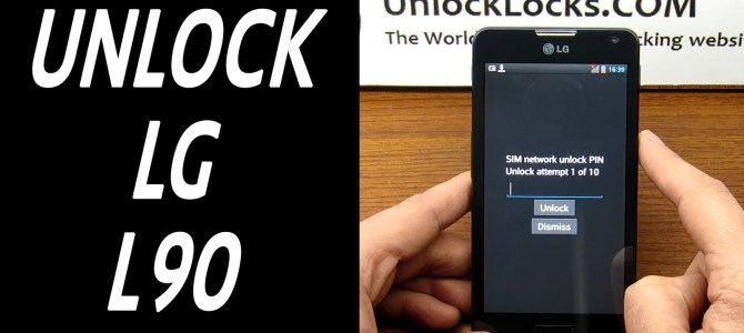 How To Unlock Optimus L90 and L90 Dual (D405, D405N, D410, and D415) by unlock code.