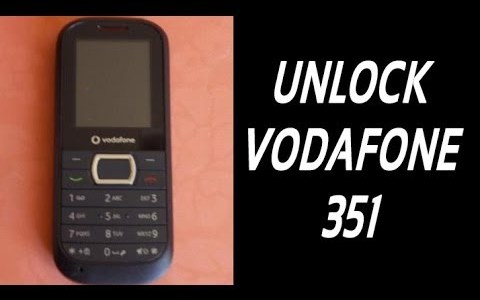 How To Unlock Vodafone 351 By Unlock Code.