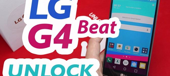 How To Unlock LG G4 Beat by Unlock Code.
