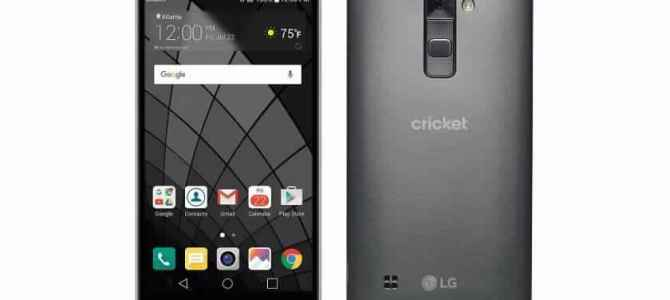 How To Unlock a Cricket Wireless LG Stylo2 (K540) by Unlock Code.