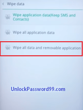 Unlock any Oppo Mobile without Password – Unlock Password 99