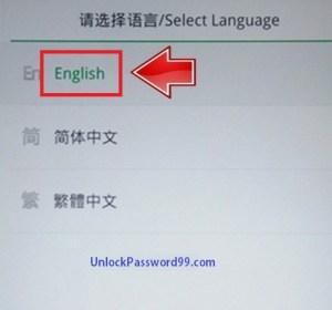 oppo Language option