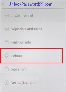 oppo reboot option