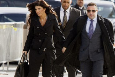 Joe Giudice Reports to Fort Dix on Bankruptcy Fraud