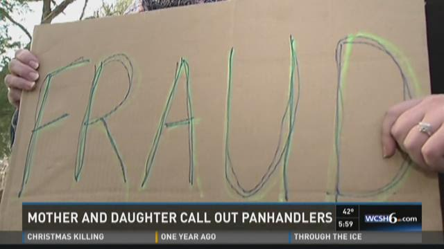 Panhandlers Alleged Fraud – Mother and Daughter Catch Them on Camera