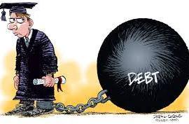 Student Loans Payback Hits High Education Debt