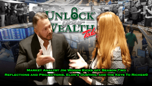 Top 3 Market Analyst Jim Woods co-hosts the Season 2 Kick-off show of Unlock Your Wealth Today Starring Heather Wagenhals