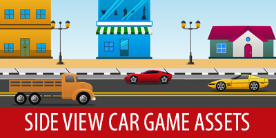 free game art assets 16 side view cars assets unlucky studio
