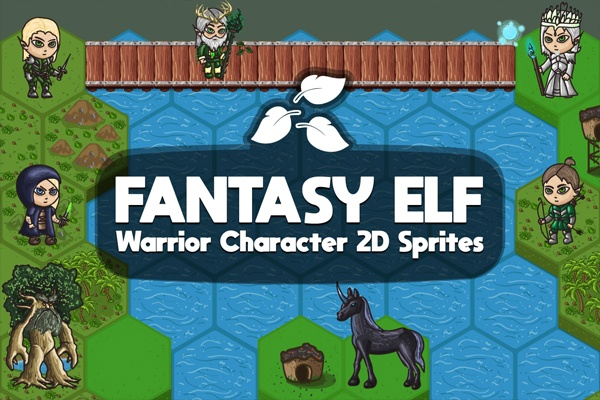 10 Free Characters For Your 2D Game | UnLucky Studio