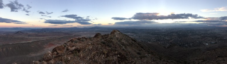 SNDAces Dusk Hike @ This was Frenchman Mountain