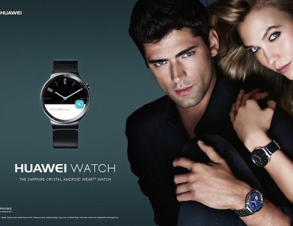 La nouvelle Huawei Watch