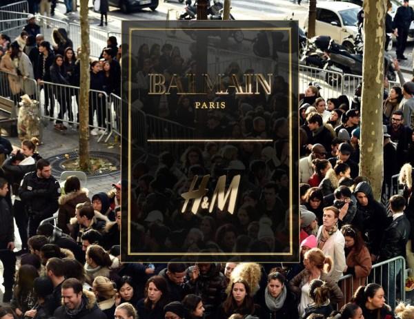 Balmain X H&M : la frénésie