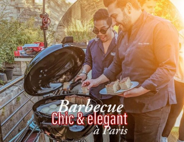 Secrets d'un barbecue chic à Paris