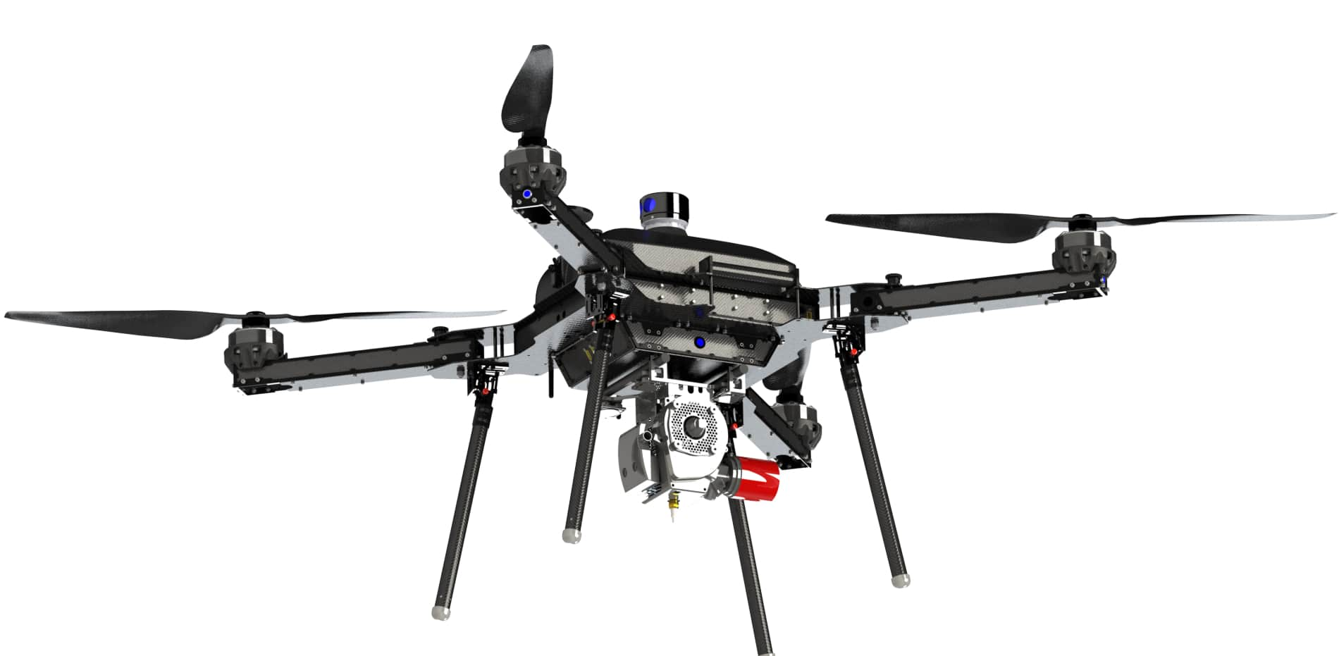 Florida Start Up Launches Foldable Hybrid Drone With Hours