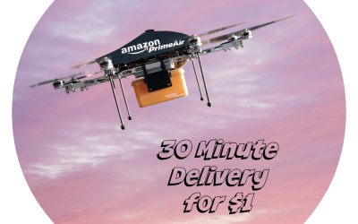 Amazon Drones: Delivery in 30 Minutes for $1