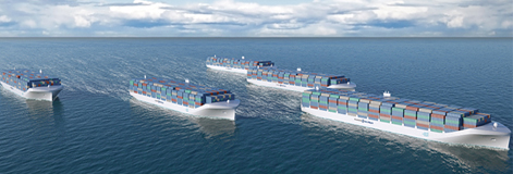 unmanned cargo vessel, ship, rolls royce
