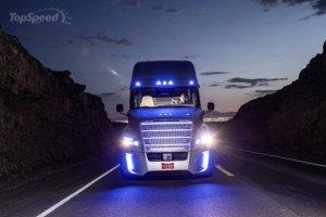 cargo truck, driverless, unmanned cargo