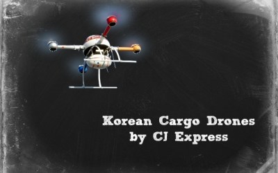 Cargo Delivery Drones Public/Private Partnership in South Korea